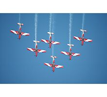 RAAF Roulettes Aerobatic Team @ Williamtown 2010 Photographic Print