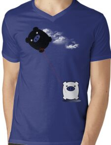 TWINPIGS KITE  Mens V-Neck T-Shirt