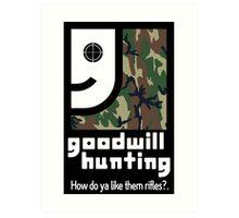 Goodwill Hunting Art Print