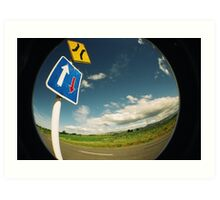 Road Signs Art Print