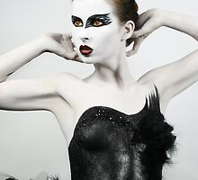 Black Swan II by PorcelainPoet