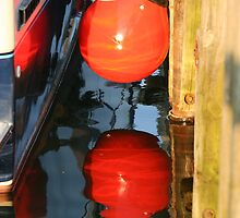 Red Bubble reflected by tanmari