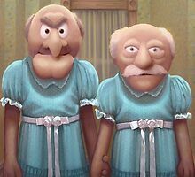 Muppet Maniac - Statler & Waldorf as the Grady Twins by GrimbyBECK