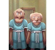 Muppet Maniac - Statler & Waldorf as the Grady Twins Photographic Print