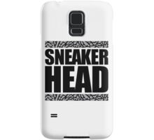 Sneakerhead -Black Out Cement Samsung Galaxy Case/Skin