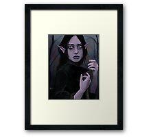 Blue elf Framed Print