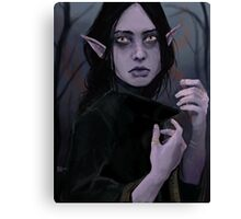Blue elf Canvas Print