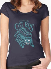 CHESHIRE CAT BUS Women's Fitted Scoop T-Shirt