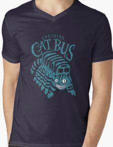 CHESHIRE CAT BUS Mens V-Neck T-Shirt