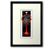 PART 14 - The Black Queen Strikes! Framed Print