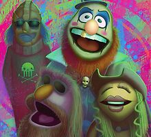 Muppet Maniac - Electric Mayhem as the Firefly Family by GrimbyBECK