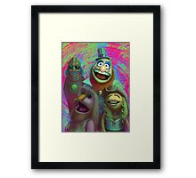 Muppet Maniac - Electric Mayhem as the Firefly Family Framed Print