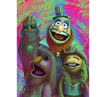 Muppet Maniac - Electric Mayhem as the Firefly Family Photographic Print