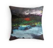 Abstract Painting Nº 04 - Black Throw Pillow