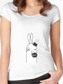 Mr.Rabiton Women's Fitted Scoop T-Shirt