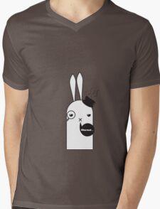 Mr.Rabiton Mens V-Neck T-Shirt