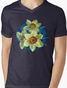 Daffodils T Mens V-Neck T-Shirt