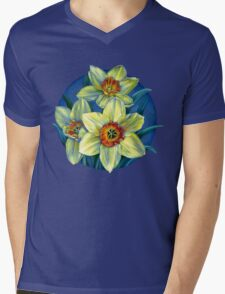 Daffodils T Mens V-Neck T-Shirt