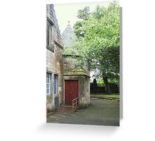 Kilbirnie Auld Kirk exterior 2 Greeting Card