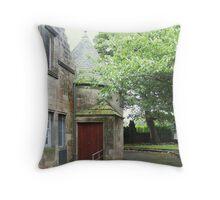 Kilbirnie Auld Kirk exterior 2 Throw Pillow