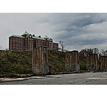 Kings Park Psychiatric Center Photographic Print