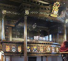 Kilbirnie Auld Kirk interior 5 by Ray Vaughan