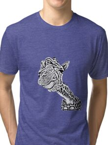 stretch your neck out Tri-blend T-Shirt