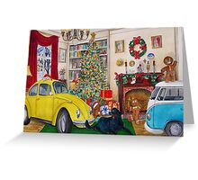 Taxi Bug the Volky Bug's Xmas 2015 Greeting Card