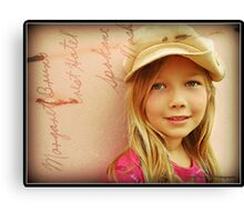 Ellie ... Cap fits Canvas Print