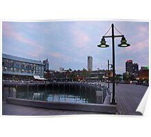City Pier Poster