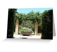 Garden Vineyard Greeting Card