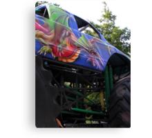 Monstrosity on wheels Canvas Print