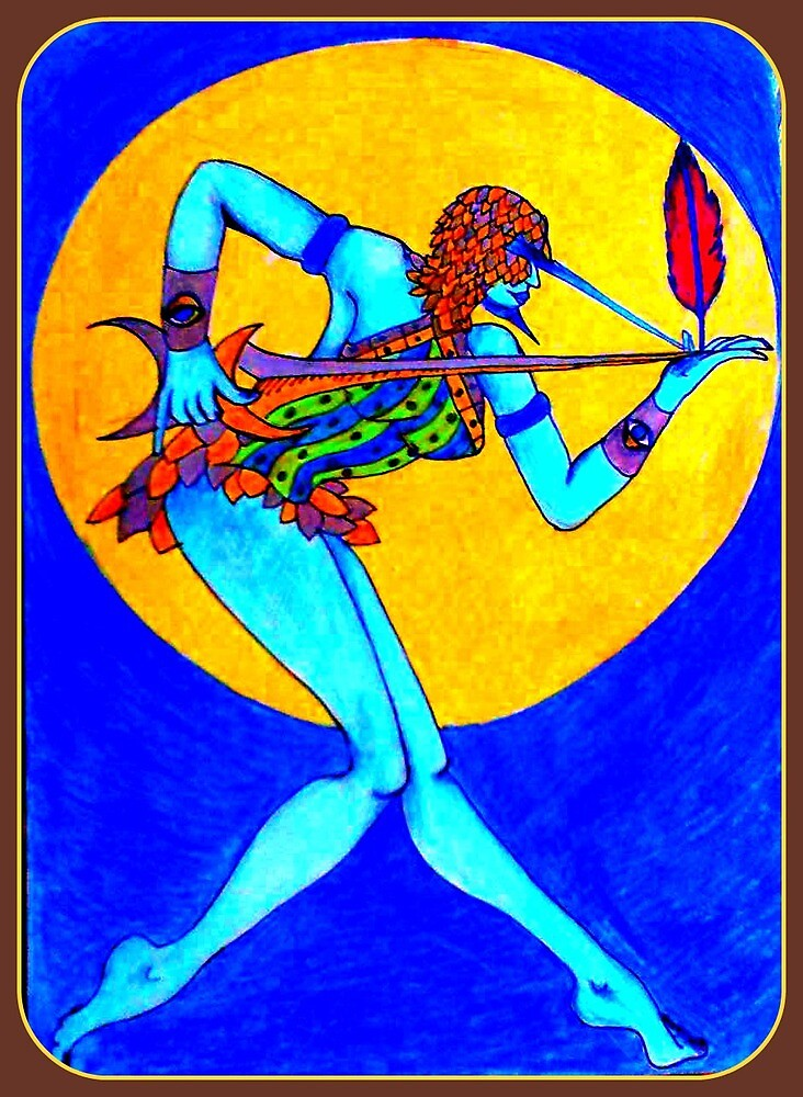 Byron Bay Tarot - Ace of Swords by barbeara