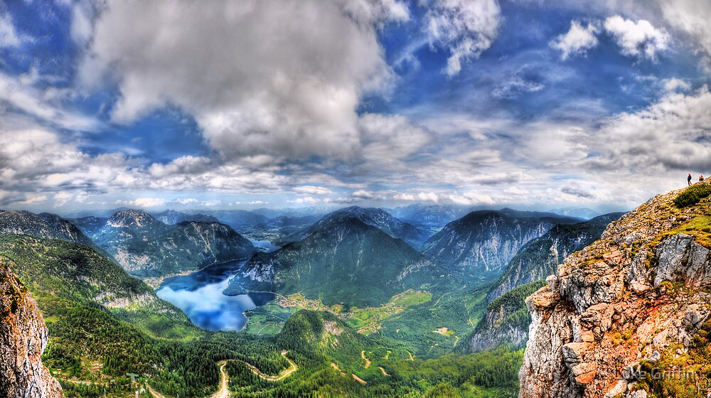 5 Fingers - Krippenstein (Austria) - 36 shot HDR Panorama by Luke Griffin