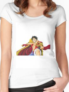 luffy2 Women's Fitted Scoop T-Shirt