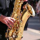 Sax Player by TREVOR34