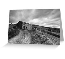 Field barn at Muker in Swaledale Greeting Card