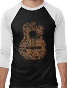 Woodys Machine Men's Baseball ¾ T-Shirt