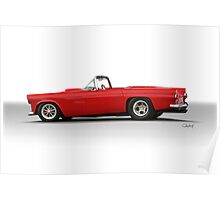 1956 Ford 'Pro Street' Thunderbird VS2 Poster