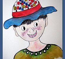 The boy with the hat by Elizabeth Kendall