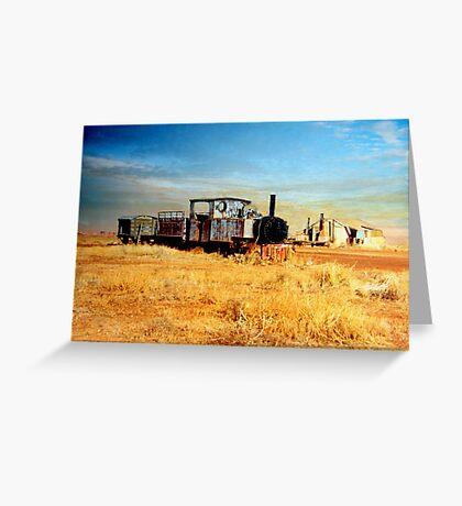 Gwalia Woodline  Greeting Card