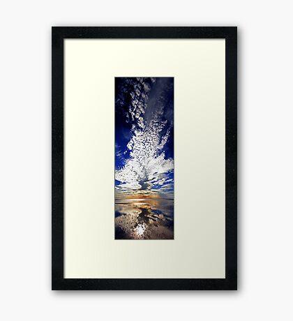 Morning Reflection - Shark Bay Western Australia  Framed Print