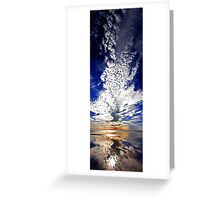 Morning Reflection - Shark Bay Western Australia  Greeting Card