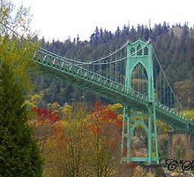 St Johns Bridge by Courtneystarr