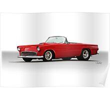 1956 Ford 'Pro Street' Thunderbird Poster