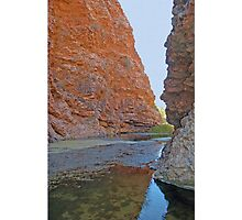 Simpson's Gap, Northern Territory, Australia Photographic Print