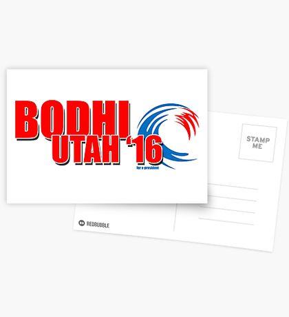 Bodhi Utah 2016 for X-President Postcards