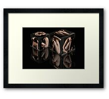 Cube Reflections Framed Print