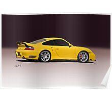 2001 Porsche 911 Turbo Poster