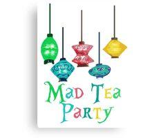 Mad Tea Party Metal Print